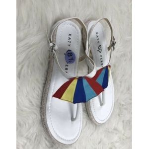 6c1f9e08f160 Katy Perry Collections Shoes - Katy Perry Shay Umbrella White Cabana Sandals
